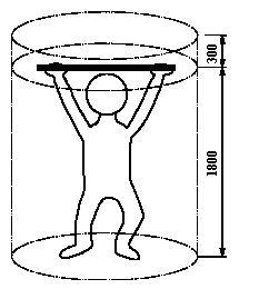 Схема площадка - висящо дете