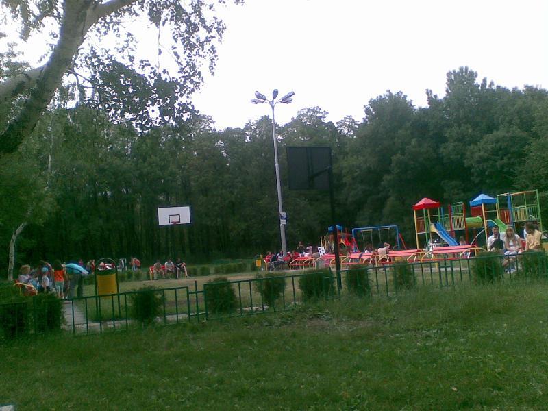 Детска баскетболна площадка