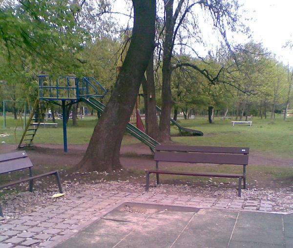 Детска площадка, вече не толкова хубава