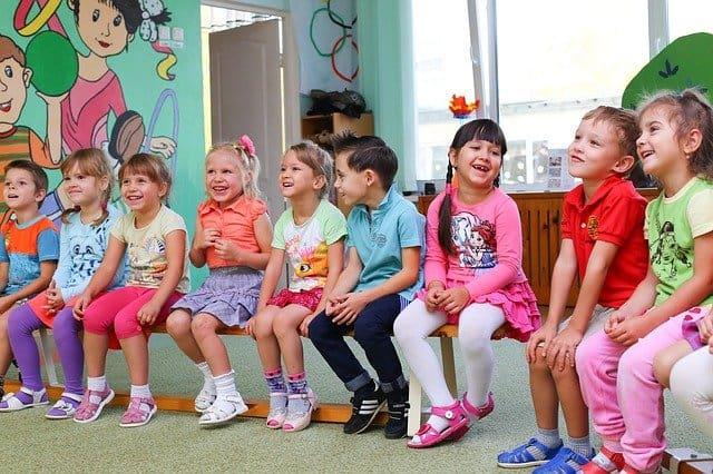 деца в детска градина